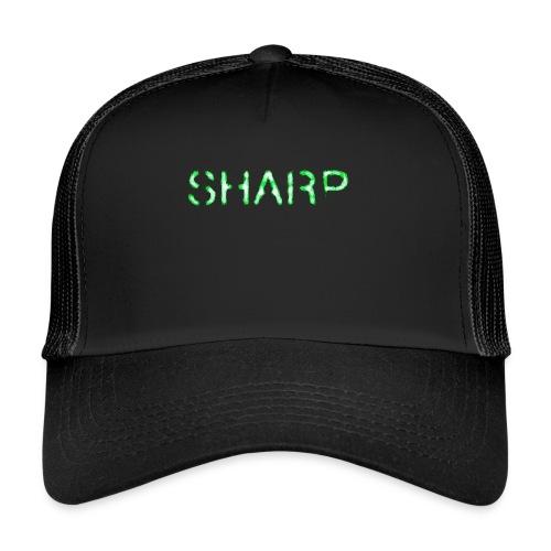 Sharp Clan black hoodie - Trucker Cap