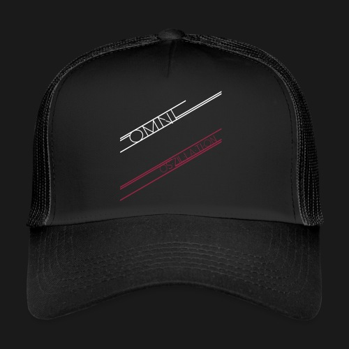 C8H10N4O2 Oszillation Container - Trucker Cap