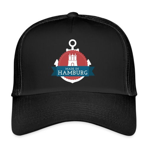 Made in Hamburg - invert - Trucker Cap