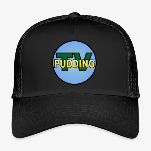 Pudding-TV Logo - Trucker Cap