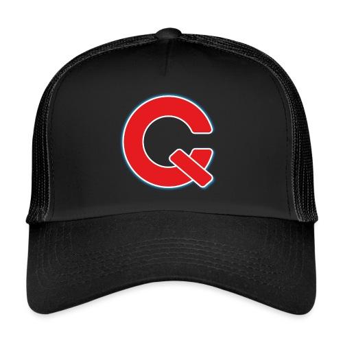 Chav & Qube Logo Rood - Trucker Cap