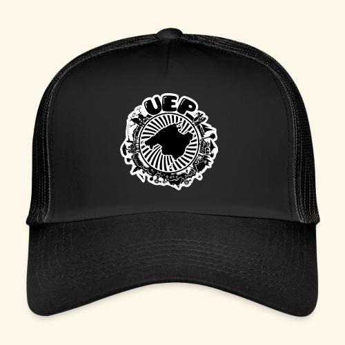 UEP white background - Trucker Cap