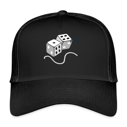 Dice - Symbols of Happiness - Trucker Cap