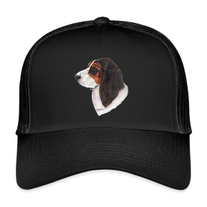 bassethound color - Trucker Cap