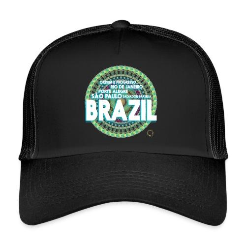 Lemon Brazil Mandala - Trucker Cap