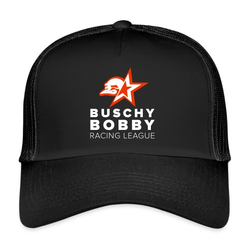 Buschy Bobby Racing League on black - Trucker Cap