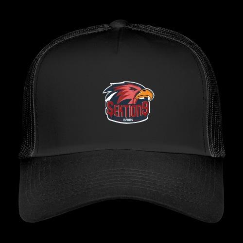 Sektion9 logo Rot - Trucker Cap