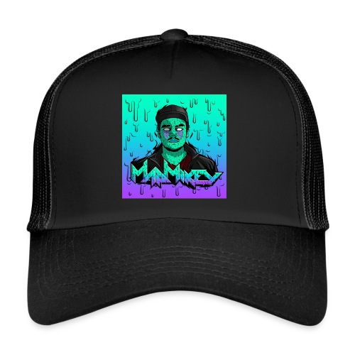 MadMikey Grime Art Sticky Green - Trucker Cap
