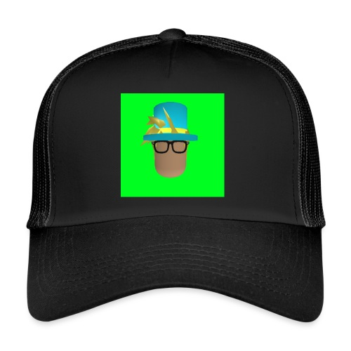 MrWhatWhat Logo Merch - Trucker Cap
