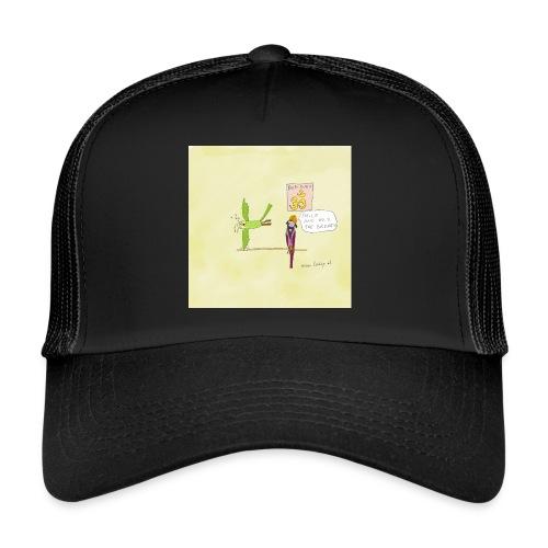 Yoga Übung - Trucker Cap