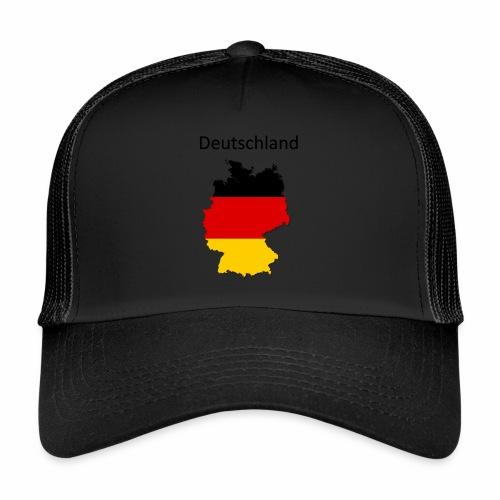 Deutschland Karte - Trucker Cap