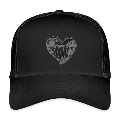 Corazón Negro - Gorra de camionero