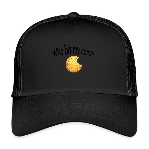 Bitcoin bite - Trucker Cap