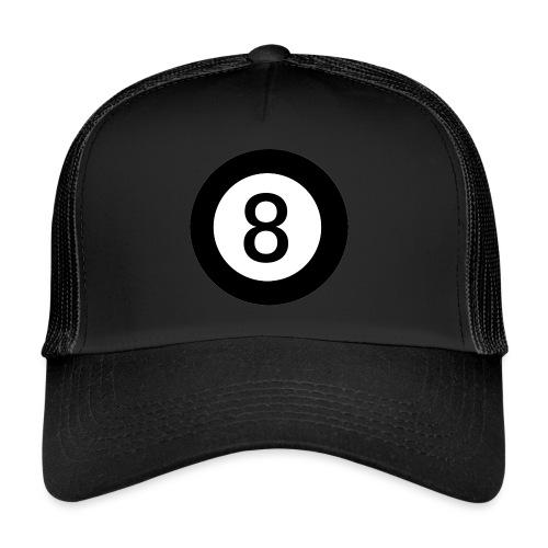 Black 8 - Trucker Cap