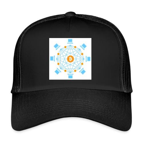 Blockchain - Trucker Cap