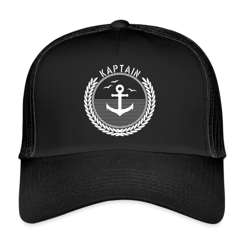 Kaptain - Anchor - Trucker Cap