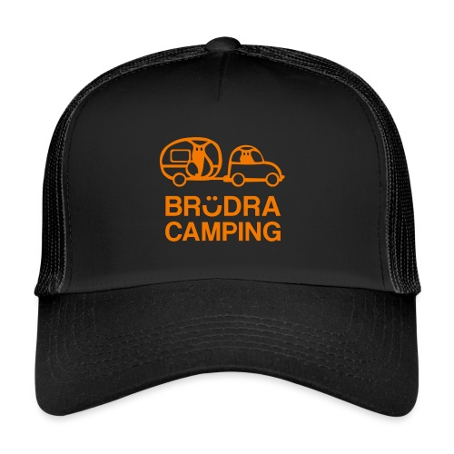Brödra orange - Trucker Cap
