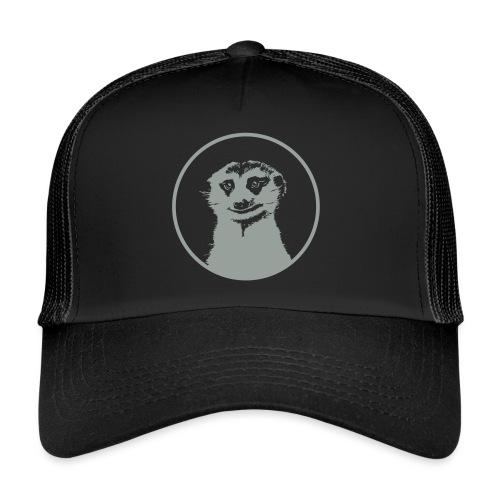 Stokstaartje groot rond diapositief - Trucker Cap