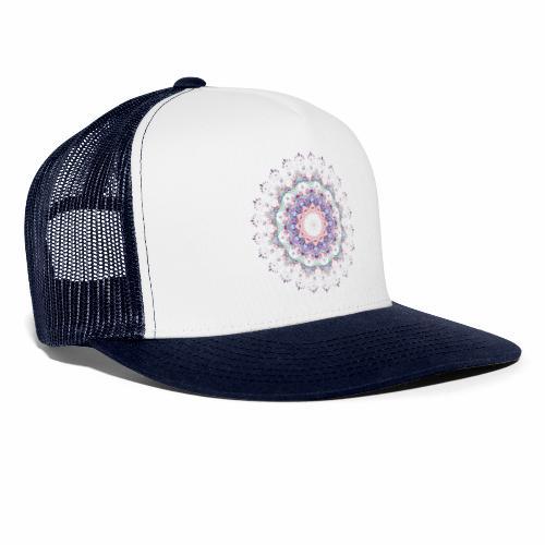 Hvid mandala - Trucker Cap