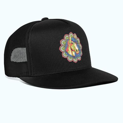Mandala horse - Trucker Cap