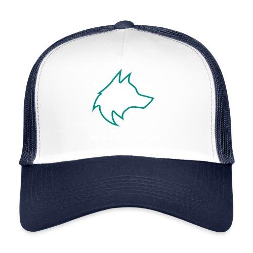 Wolf Pack Logo (NEW) - Trucker Cap