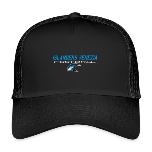 islanders football new logo - Trucker Cap