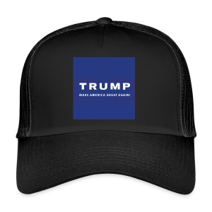Donald Trump - solidair met de USA - Trucker Cap