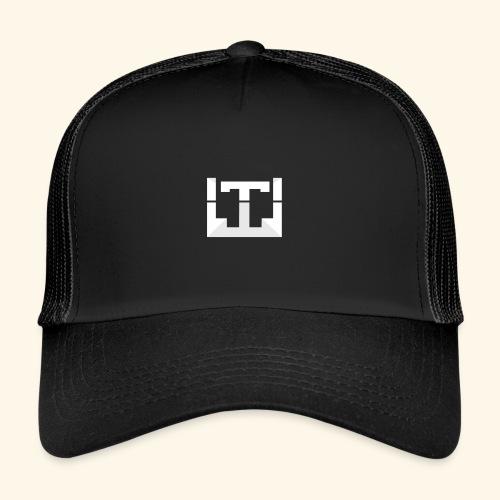 White Lentus Logo - Trucker Cap