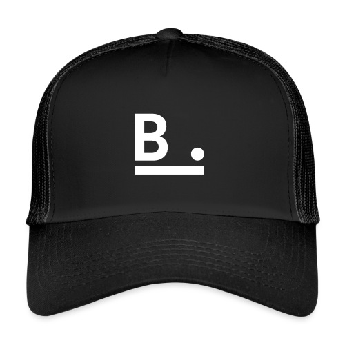 B. - The Dark Side - Trucker Cap