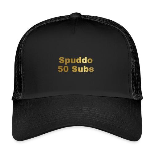 Spuddo 50 Subs Merch - Trucker Cap