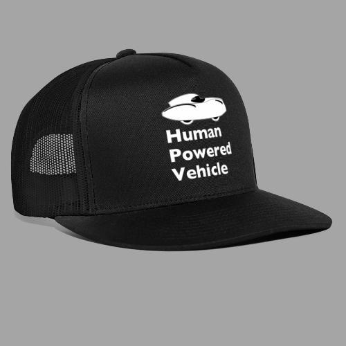 Quattrovelo Human Powered Vehicle white - Trucker Cap