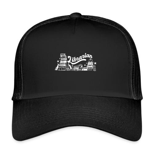 0323 Funny design Librarian Librarian - Trucker Cap