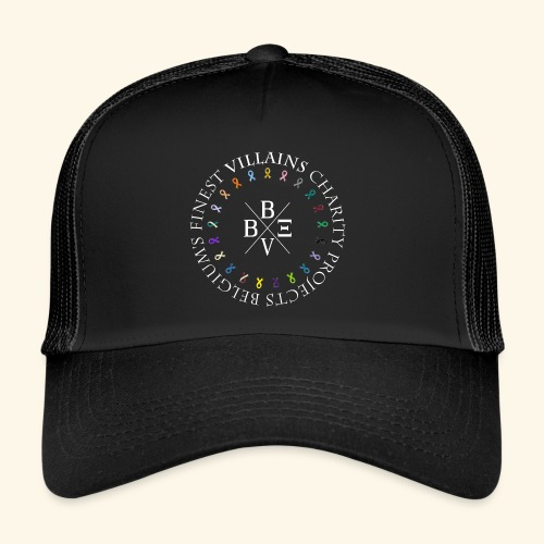 BVBE Charity Projects x factor white Charlemagne T - Trucker Cap