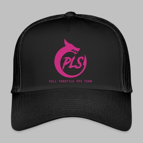 PLS logo light - Trucker Cap