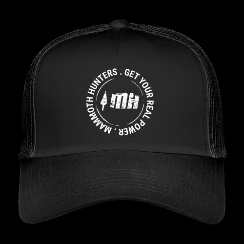 Mammoth Hunters / circular blanco - Gorra de camionero