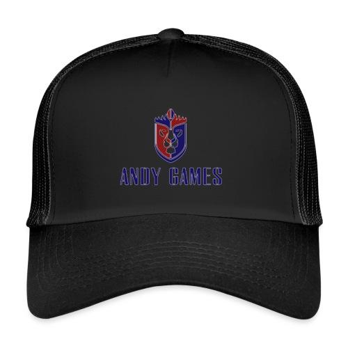 logo andygames - Trucker Cap