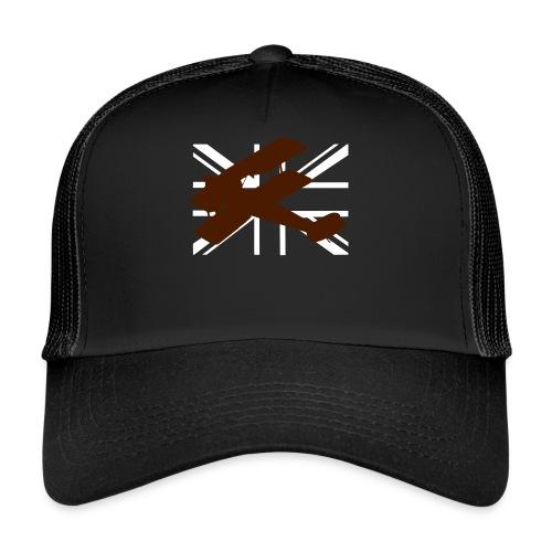 ukflagsmlWhite - Trucker Cap