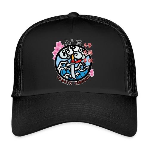 yamato tamashii logo - Trucker Cap