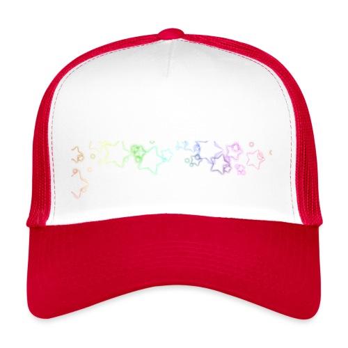 Rainbow Stars - Trucker Cap