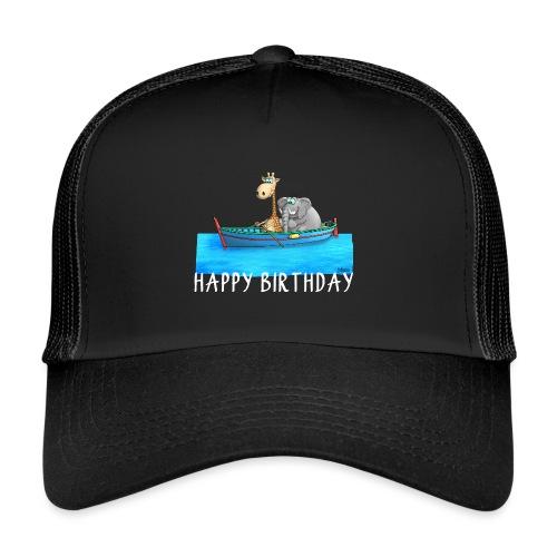 Happy Birthday Angler - Trucker Cap