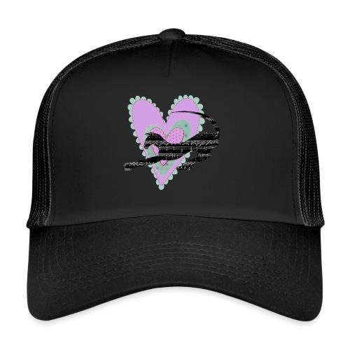 Musik hjärta - Trucker Cap