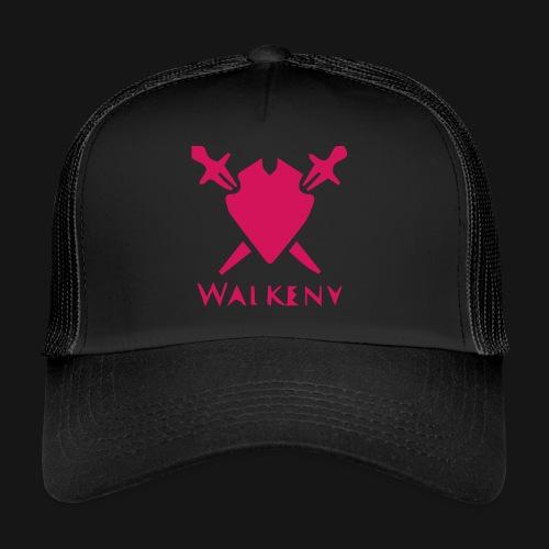 Das Walkeny Logo mit dem Schwert in PINK! - Trucker Cap