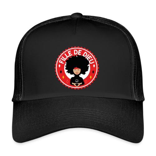 fille de Dieu rouge - Trucker Cap