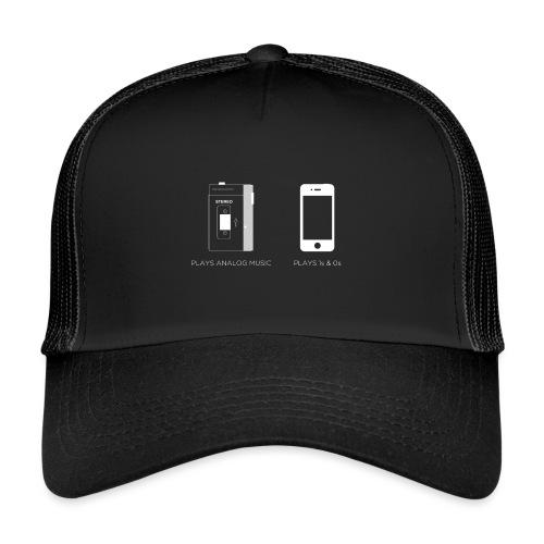 walkman analog - phone 1&0s - Trucker Cap