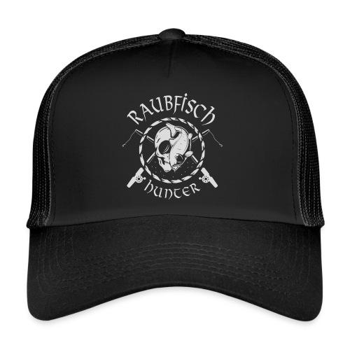 Raubfisch Hunter - Angler Skull Motiv - Trucker Cap