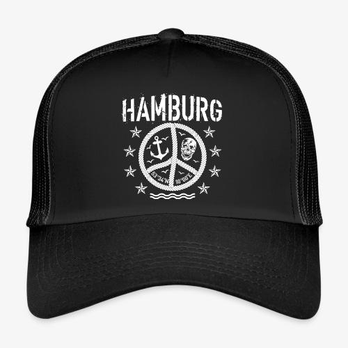 105 Hamburg Peace Anker Seil Koordinaten - Trucker Cap