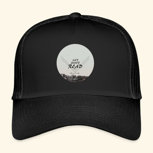 Eat, Sleep, Read - Trucker Cap