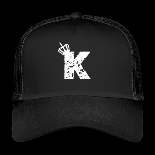 Kinzzyy White - Trucker Cap