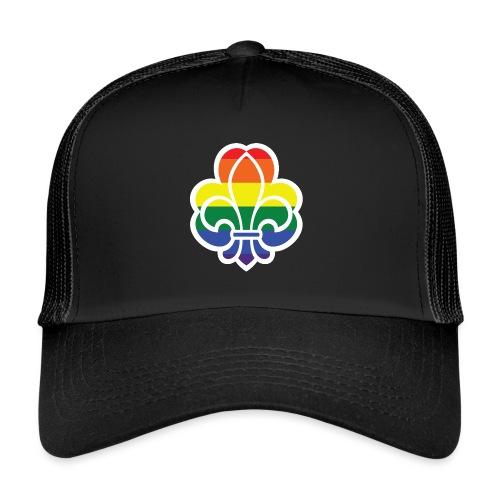 Regnbuespejder jakker og t-shirts mv - Trucker Cap