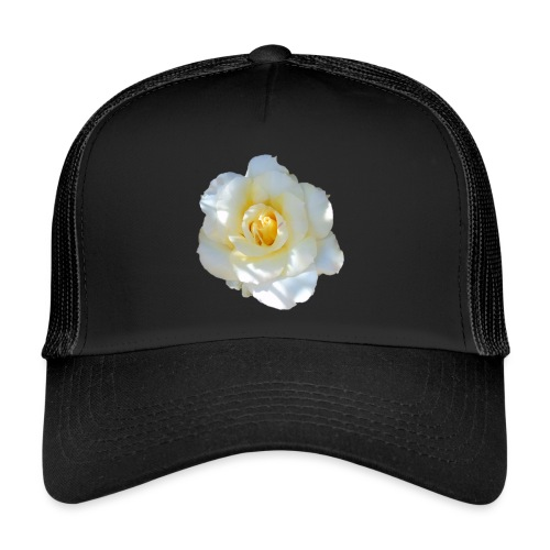 A white rose - Trucker Cap